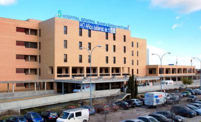 Trasladada al hospital por inhalación de humo tras un incendio en un bloque de viviendas de Talavera