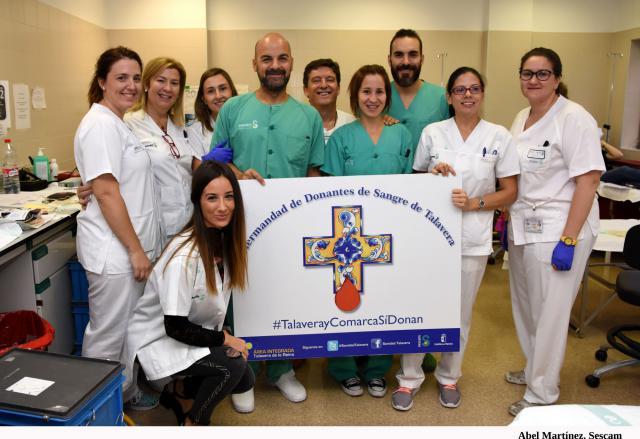 Nuevo récord del Maratón de Donación de Sangre de Talavera