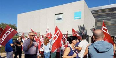 CCOO cifra en un 50 por ciento el seguimiento de la huelga Digitex-Talavera