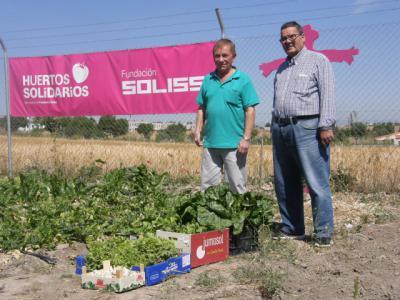 La Huertos Solidarios de la Fundación Soliss produjeron 2 toneladas de alimentos beneficiando a 6.000 personas