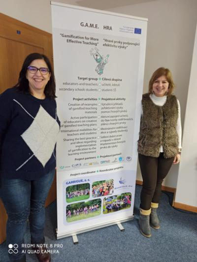 Dos profesores del I.E.S. Ribera del Tajo, en el Proyecto Erasmus+ G.A.M.E.