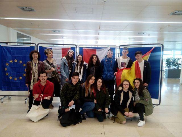 El I.E.S. Ribera del Tajo sigue apostando por programas internacionales para sus alumnos