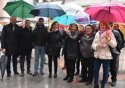 Satisfacción en el PSOE por la respuesta a los actos reivindicativos del Día de la Mujer