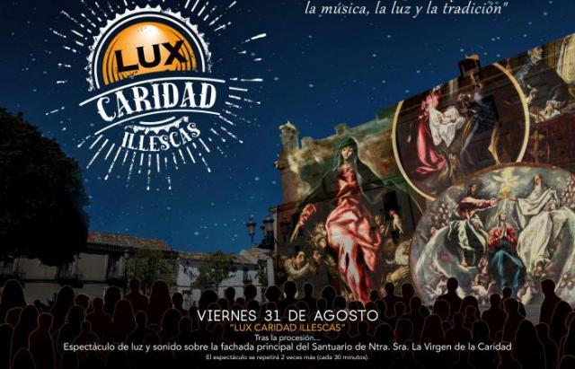 'Lux Caridad Illescas', el espectáculo de luz y sonido con sello talaverano