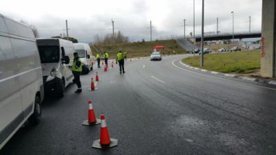 Las furgonetas: objetivo de la nueva campaña de vigilancia de la DGT