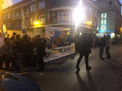 Unas ochenta personas reivindican en Talavera