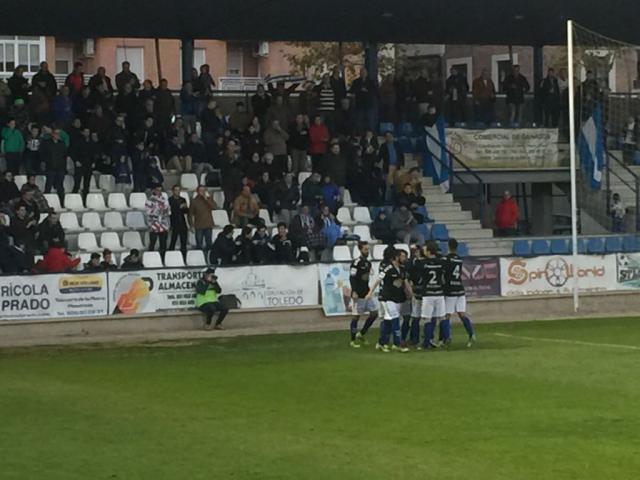 El CF Talavera suma su séptima victoria consecutiva en casa y pone la vista en el derbi ante el Toledo