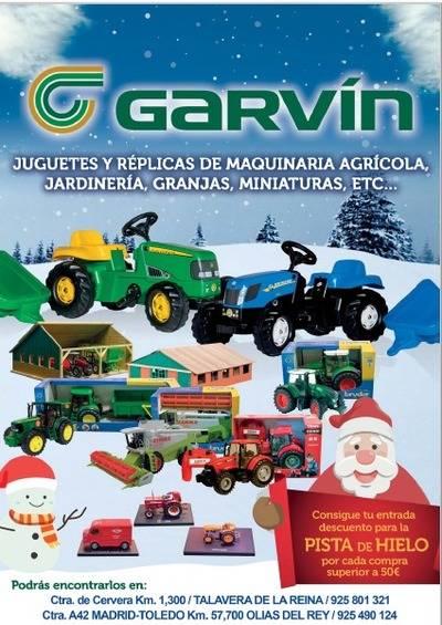 Agrícola Garvín acerca con sus juguetes el mundo rural a los más pequeños