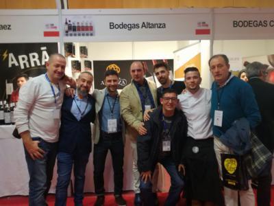 Maldona con Beniro Sir y Juanjo Bermúdez en Enofusión