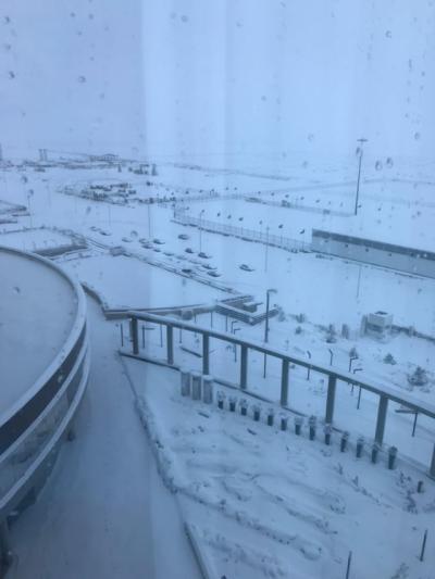 El aeropuerto de Teherán paralizado por la fuerte nevada