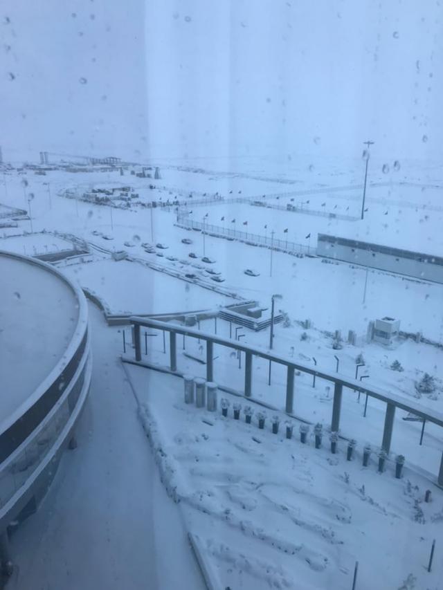 Un talaverano entre los españoles atrapados en el aeropuerto de Teherán por la nieve