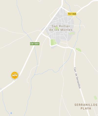 Un fallecido en un accidente de tráfico en San Román