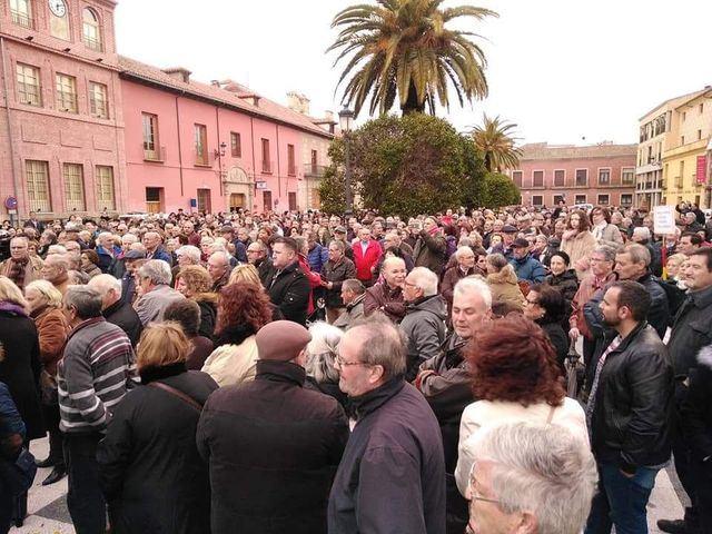 La Plataforma de Jubilados de Talavera exige pensiones dignas y dicen