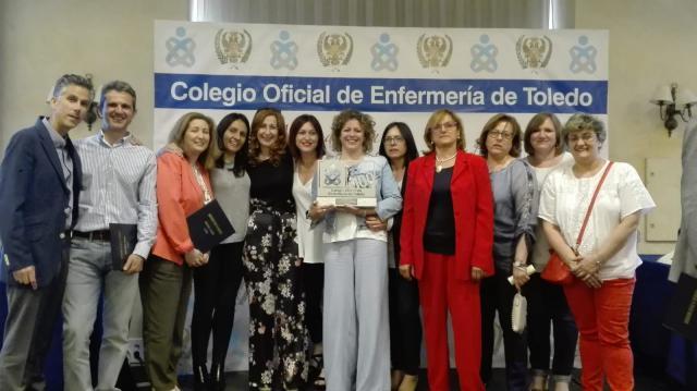 Reconocimiento a las enfermeras del Servicio de Oncohematología del Hospital de Talavera