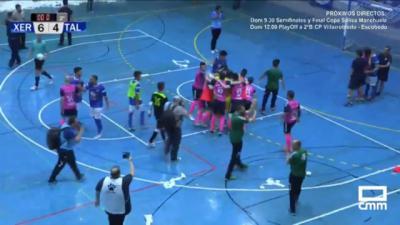 El Soliss FS Talavera hace historia y logra el ascenso en un partido de infarto