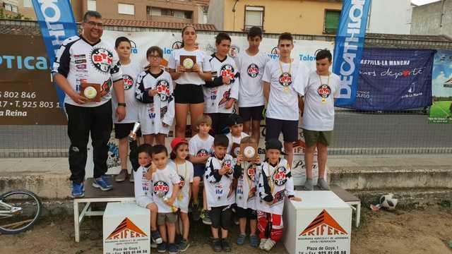 Dos oros, una plata y un bronce para BTM Racing en la liga de BMX Interclub
