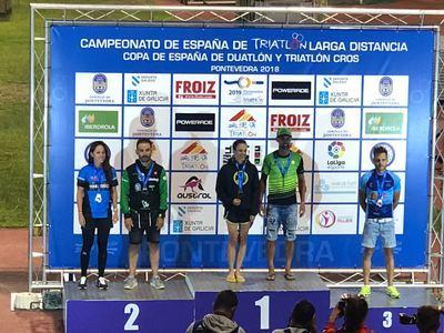 Gran actuación del Talavera Training en el Campeonato de España de Triatlón Larga Distancia