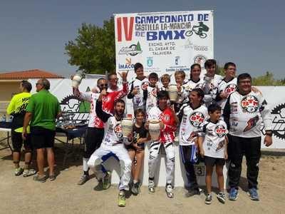 El 'BTM Racing' brilla en el Campeonato de Trial de Pepino y en el Campeonato Regional de BMX