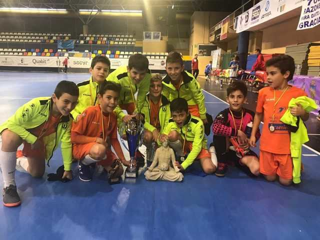 El CF Élite Talavera logra tres títulos en el Torneo Ciudad de Guadalajara