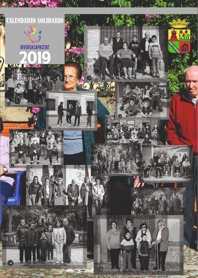 Calera y Chozas presenta el Calendario Solidario de la Asociación Diversa Capacitat