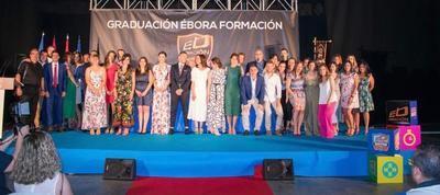 IMÁGENES | Ébora Formación gradúa a sus alumnos en una emotiva gala de entrega de becas