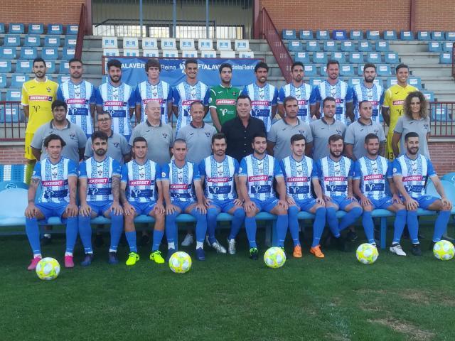 El CF Talavera presentó su plantilla y las nuevas equipaciones