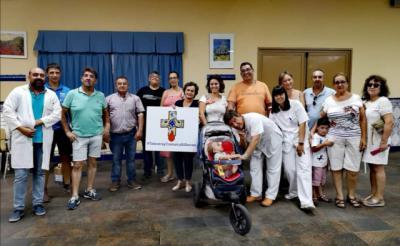 Pepino demuestra su solidaridad con una donación de sangre récord
