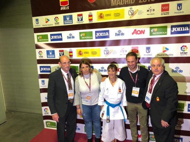 Sandra Sánchez, campeona en el circuito mundial por quinta vez