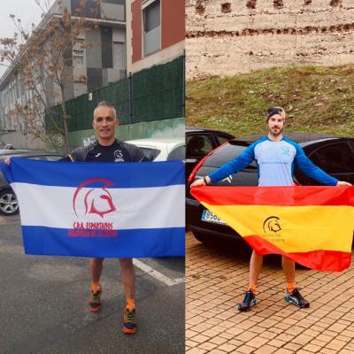 Los dos deportistas de Talavera.