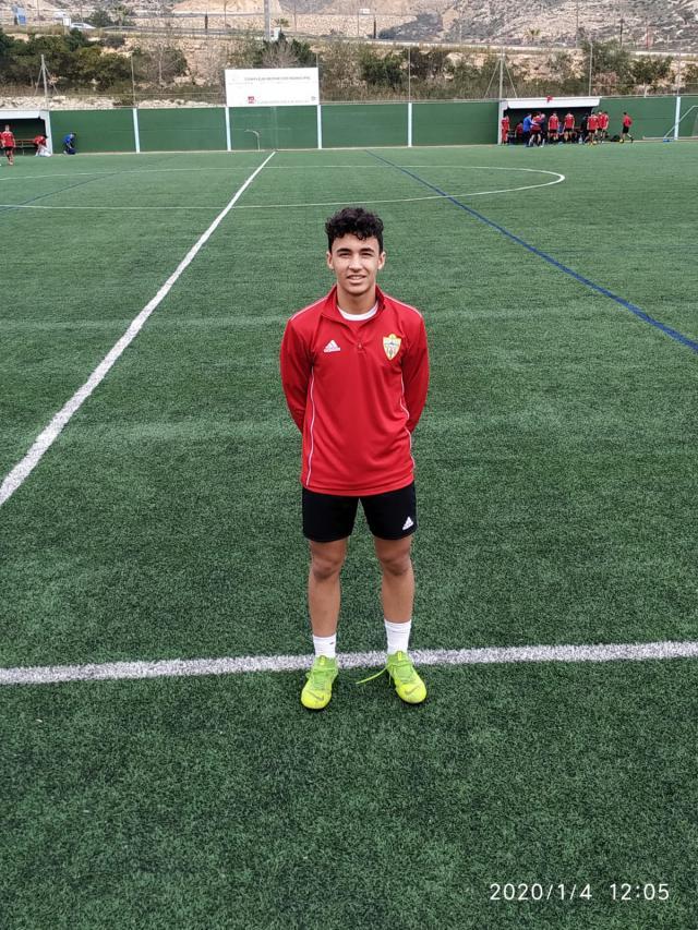 Primer entrenamiento con el Almería.
