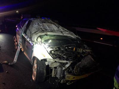 Heridos dos guardias civiles tras colisionar con su coche en una persecución en Illescas