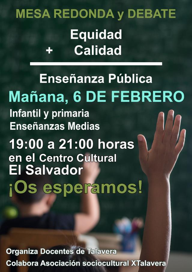 El Salvador de Talavera cita a la Comunidad Educativa