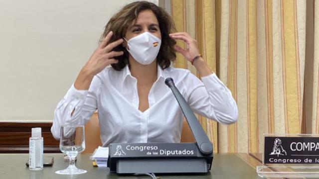 La presidenta del CSD, Irene Lozano Los