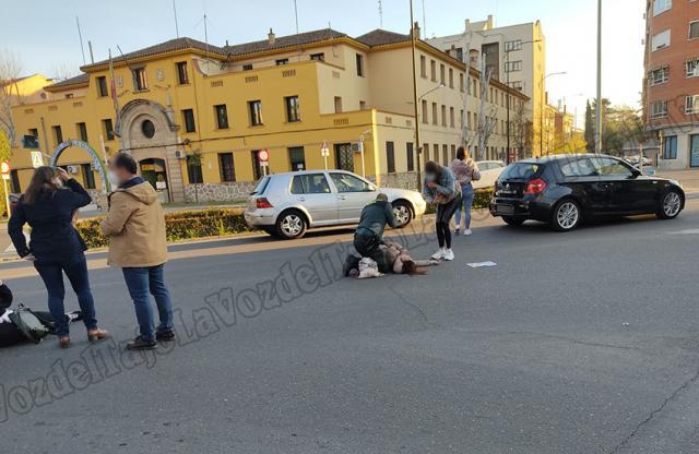 TALAVERA | Trasladan al hospital a dos mujeres atropelladas en un paso de peatones