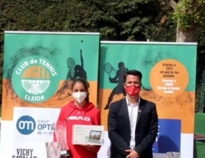 TENIS | Sofía Fernández, de Cebolla, sigue ganando torneos en España