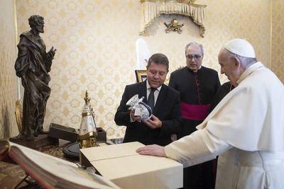 VATICANO | Así ha sido el encuentro de Page con el Papa Francisco