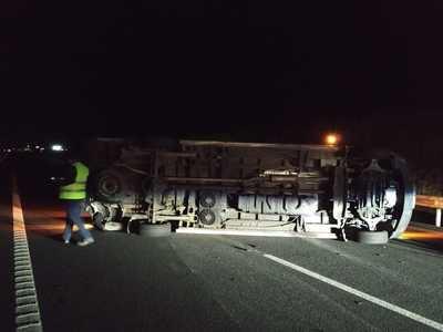 Accidente entre dos furgonetas en Calzada de Oropesa