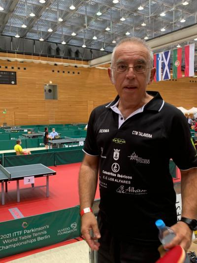Javier Pérez logra el subcampeonato del mundo de jugadores de párkinson