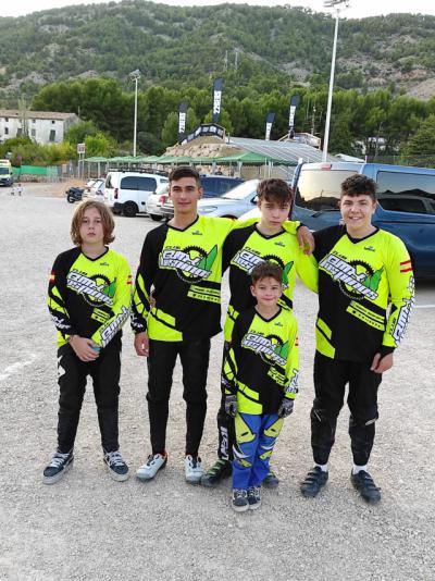Los riders del Club Los Pinos Talavera destacan en la XXV Copa de España