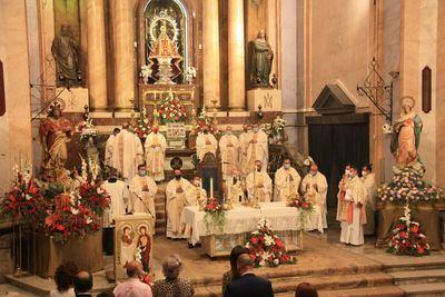 El equipo de Gobierno participó en los actos de consagración del Sagrado Corazón