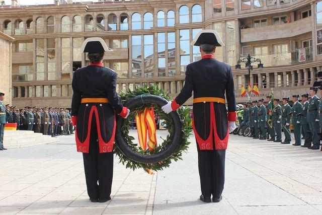 Toda España ha festejado a la Patrona de la Guardia Civil.