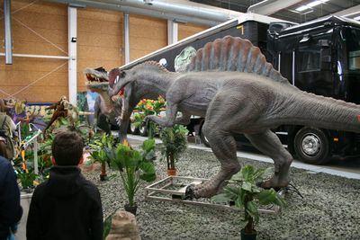 Más de 8.000 personas pasan por Talavera Ferial para ver la exposición de Dinosaurios