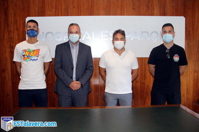 La plantilla del Soliss FS Talavera pasa revisión médica en la Clínica Marazuela