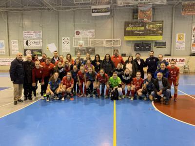 La Junta destaca la buena evolución del fútbol sala femenino en nuestra región