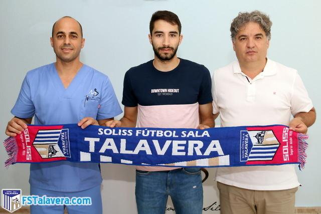 Anass seguirá poniendo su verticalidad y desparpajo al servicio del Soliss FS Talavera
