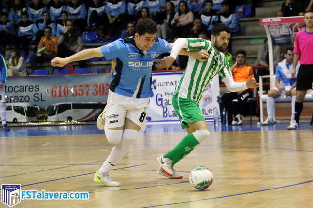 El Soliss FS Talavera maldice su suerte ante un poderoso Real Betis que fue muy resolutivo