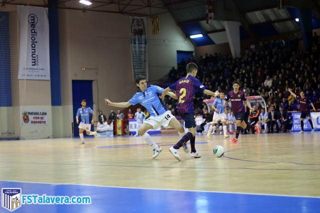 El Soliss FS Talavera se condena víctima de sus propios errores ante el Barça Lassa 'B' superior
