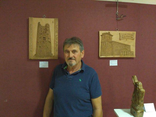 Segurilla acoge la exposición 'La vida en la madera', del escultor José María Sánchez