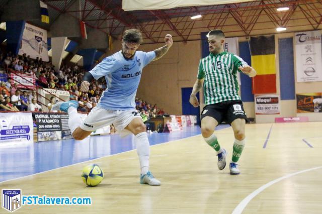 El Soliss FS Talavera se enfrenta este sábado al líder