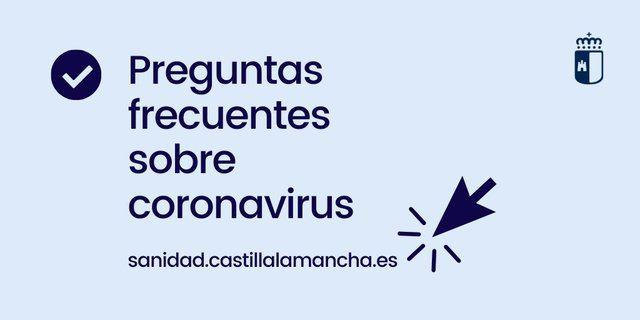 CORONAVIRUS | Datos de interés: prevención, contagio y teléfonos Sanidad CLM